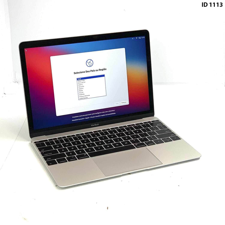 Macbook 12 Silver M 1.2Ghz 8GB 512GB SSD MF865LL/A Seminovo