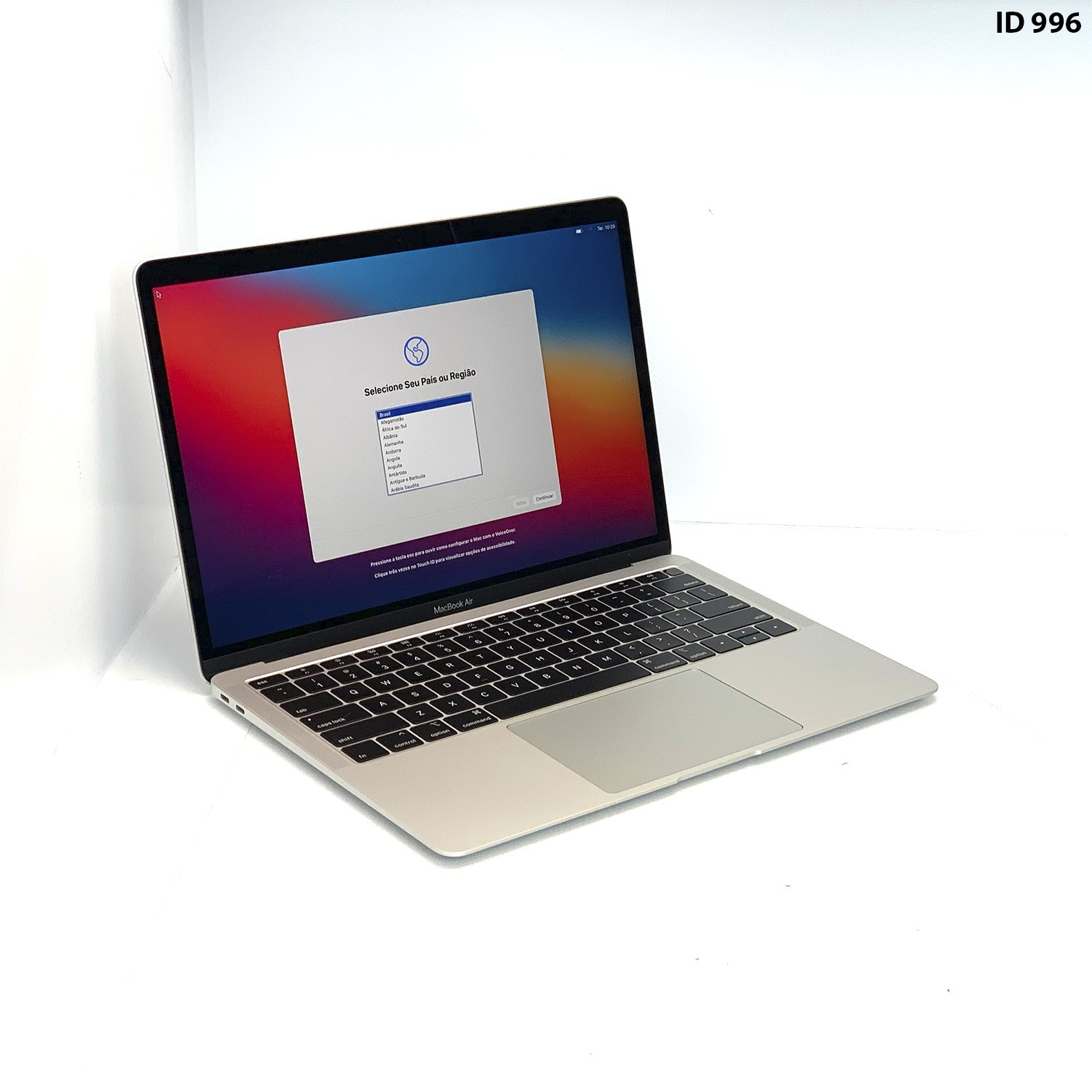 Macbook Air 13 Silver i5 1.6Ghz 8GB 128gb SSD MRE82LL/A Seminovo