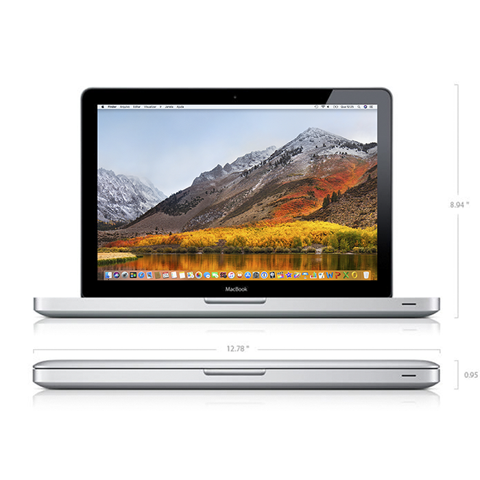Macbook Pro 13 I5 2.3ghz 4gb 256gb Ssd Mc700 Seminovo