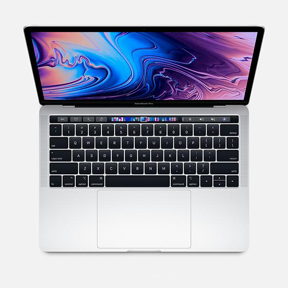 Macbook Pro 13 Touch Bar Silver i7 3.3Ghz 8GB 256GB SSD BTO/CTO  Recertificado