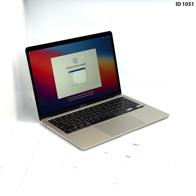 Macbook Air 13 Silver i3 1.1Ghz 8GB 256GB SSD MWTJ2LL/A Seminovo