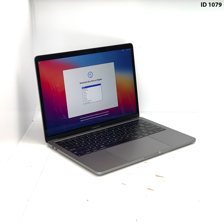 Macbook Pro 13 Touch Bar Space Grey i5 2.4Ghz 8GB 256GB SSD MV962LL/A Seminovo