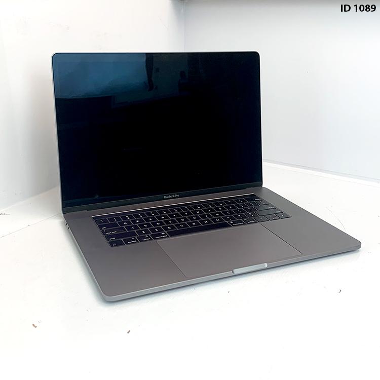 Macbook Pro 15 Space Grey i7 2.6Ghz 6 core 16GB 256GB SSD MPTT2LL/A Seminovo