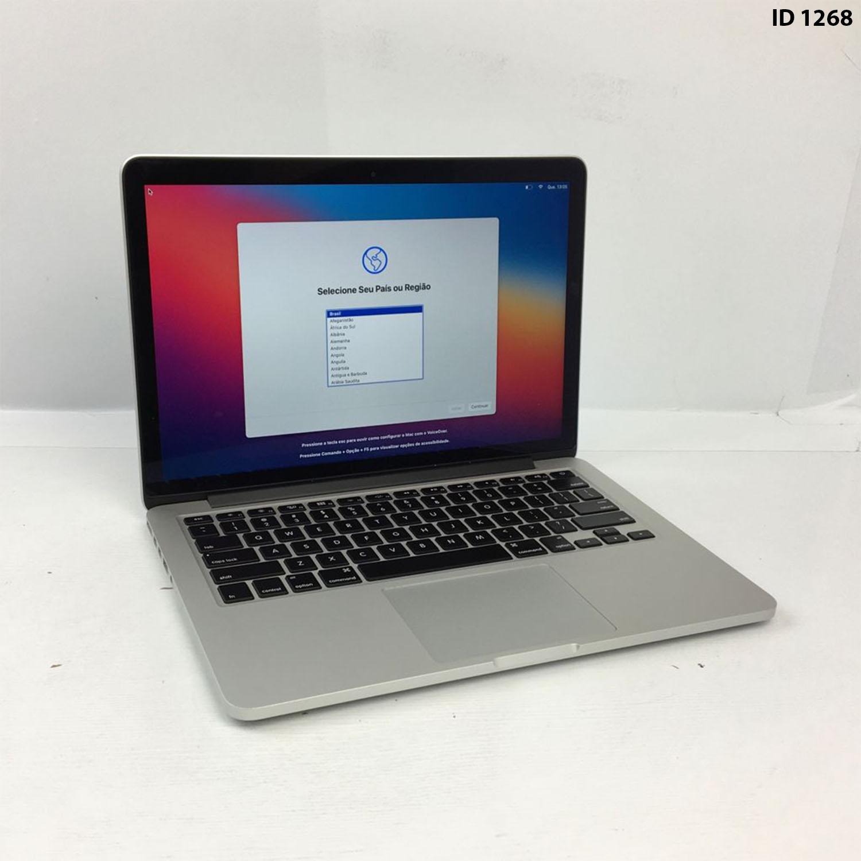 Macbook Pro Retina 13 i5 2.6Ghz 8GB 256GB SSD ME866LL/A Seminovo