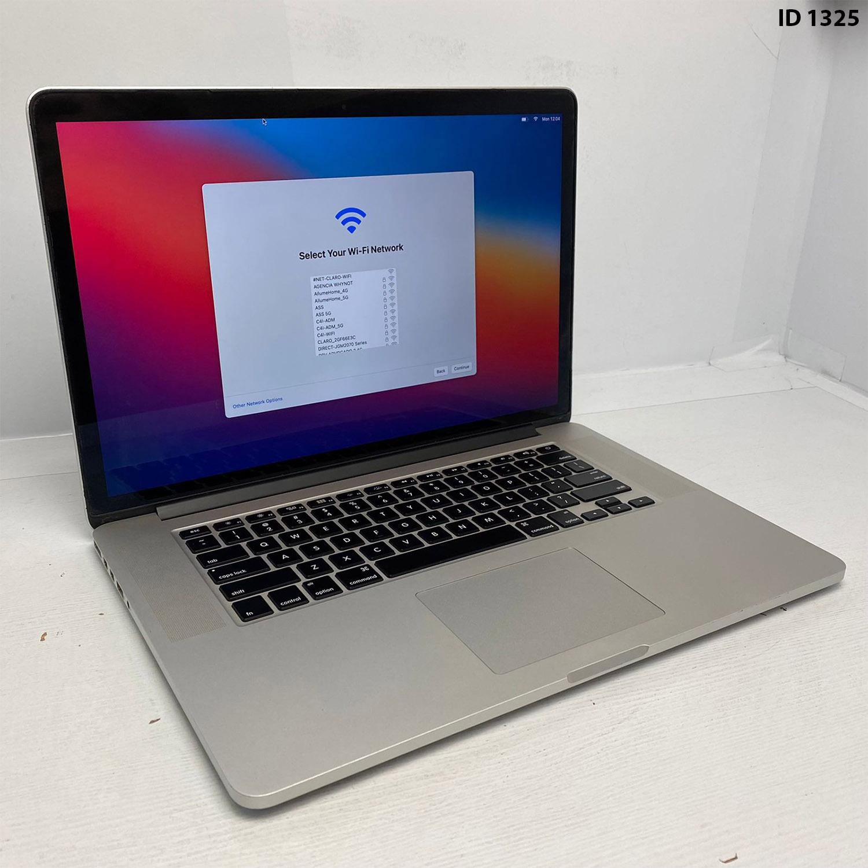 Macbook Pro Retina 15 i7 2.3Ghz 8GB 256GB SSD BTO/CTO DO ME293LL/A Seminovo