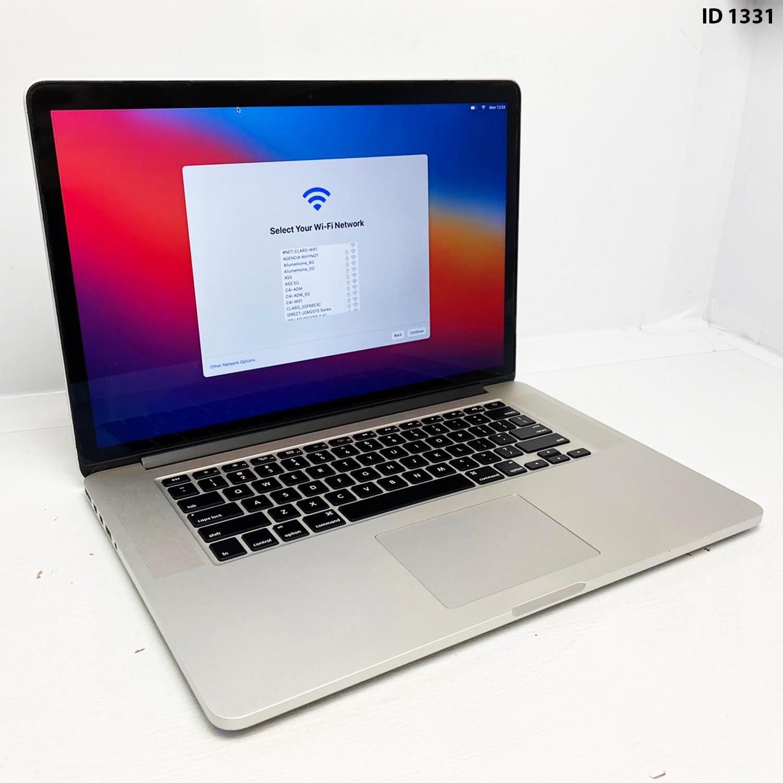 Macbook Pro Retina 15 i7 2.5Ghz 16GB 256GB SSD MGXC2LL/A Seminovo