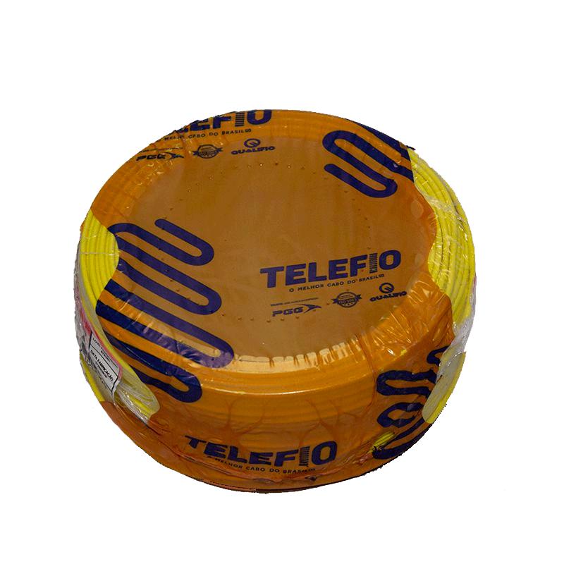 Cabo 1,5mm Flexível 750V Amarelo 100mt