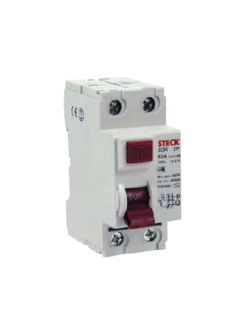 Interruptor Diferencial 2P 63A 300MA  DR63A
