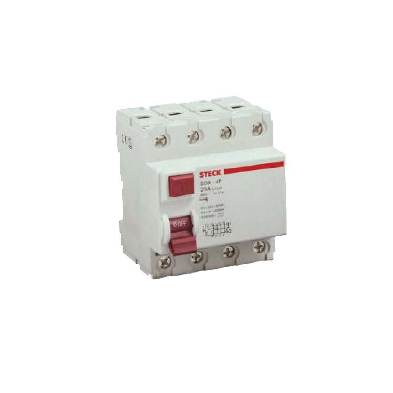 Interruptor Diferencial 4P 25A 30MA  DR25A