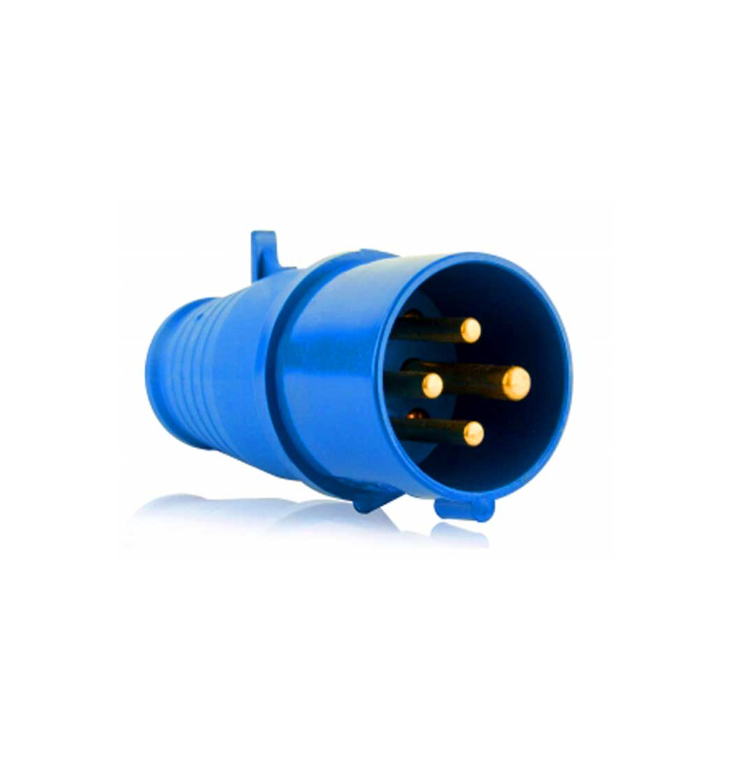 Plug Macho 3P+T 16A AZ