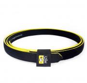 Cinto Preto com Amarelo IPSC - Guga Ribas
