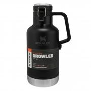Garrafa Termica Classic Vaccum Steel Growler 1.9 Litro Black