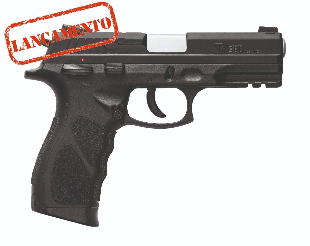 Pistola Taurus Hammer TH380 Cal. .380ACP Oxidado - 18 Tiros