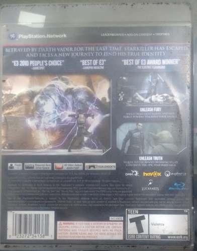 Star Wars The Force Unleashed 2 Seminovo Playstation 3 Ps3 Bh Loja