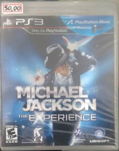 Michael Jackson The Experience Novo Playstation 3 Ps3 Loja