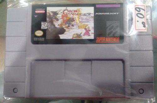 Chrono Trigger Super Nintendo Snes Novo Bh Loja