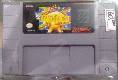 Earthbound Super Nintendo Snes Novo Bh Loja