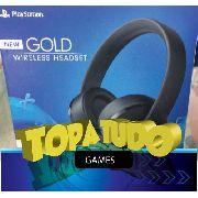 Headset Wireless New Gold Ps4 Em Bh No Maleta Com Garantia Anúncio com variação