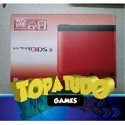 Nintendo 3ds Xl Pelicula + Stylus + Jogo Com Garantia Bh