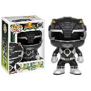 Funko Pop Ranger Preto Power Ranges 361 Bonecos Miniaturas