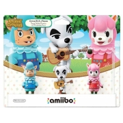 Amiibo Animal Crossing Triple Set