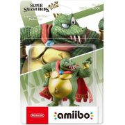 Amiibo Super Smash Bros King K Rool novo