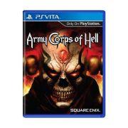Army Corps Of Hell Jogo Psvita Seminovo Loja Ps Vita