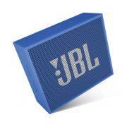 Caixa de Som JBL GO Original Azul semi novo