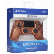 Controle Ps4 New Color Copper