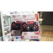 Controle Wireless Dual Shock Game Pad 3 em 1