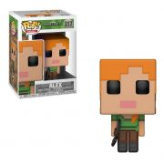 Funko Pop Minecraft Alex 317 Bonecos Miniaturas