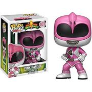 Funko Pop Ranger Rosa Power Ranges 407 Bonecos Miniaturas