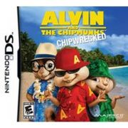 Jogo Alvin and the Chipmunks Chipwrecked DS semi novo