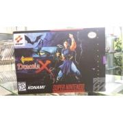 Jogo Castlevania Dracula X Super Nintendo