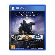 jogo Destiny 2 Renegados Coleçao Lendaria PS4 Seminovo