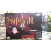 Jogo Final Fantasy 3 Super Nintendo