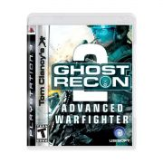 Jogo Ghost Recon Advanced warfighter 2 semi novo Ps3