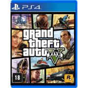 Jogo Grand Theft Auto V semi novo PS4