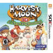 Jogo Harvest Moon 3D A New Beginning Novo Lacrado