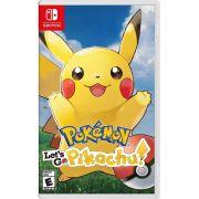 Jogo Lets Go pokemon Pikachu Nintendo Switch Novo Lacrado