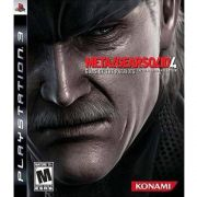 Jogo Metal Gear Solid 4 Guns of the Patriots semi novo Ps3
