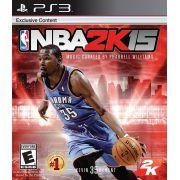 Jogo NBA2K15 semi novo Ps3