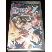 Jogo Phantasy Star Portable 2 semi novo PSP