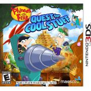 Jogo Phineas and Ferb Quest for Cool Stuff semi novo 3ds
