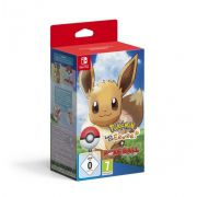 Jogo Pokemon Lets Go Eevee com PokeBall Plus Novo