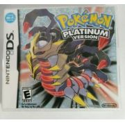 jogo Pokemon Platinum Version  DS