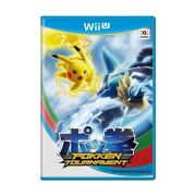 Jogo Pokken Tournament Wii u semi novo
