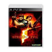 Jogo Resident Evil 5 semi novo Ps3