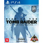 Jogo Rise of the Tomb Raider 20 year cellebration semi novo Ps4