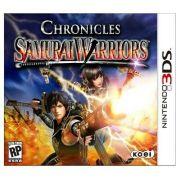 Jogo Samurai Warriors Chronicles semi novo 3ds